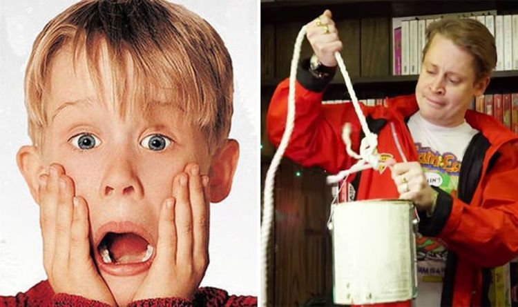 Home Alone Macaulay Culkin Reenacts Booby Trap Montage From